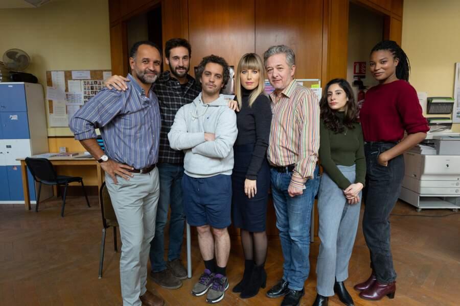 Le comédien a pour partenaire Julien Boisselier, Bruno Sanches, Nicolas Briançon, Yannig Samot, Armelle Abibou, Mélanie Page et Léa Millet.