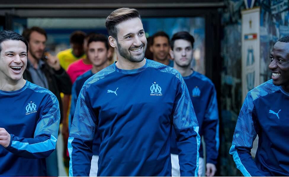Guillaume Labbé interprétait le rôle de Michaël, un joueur de foot...