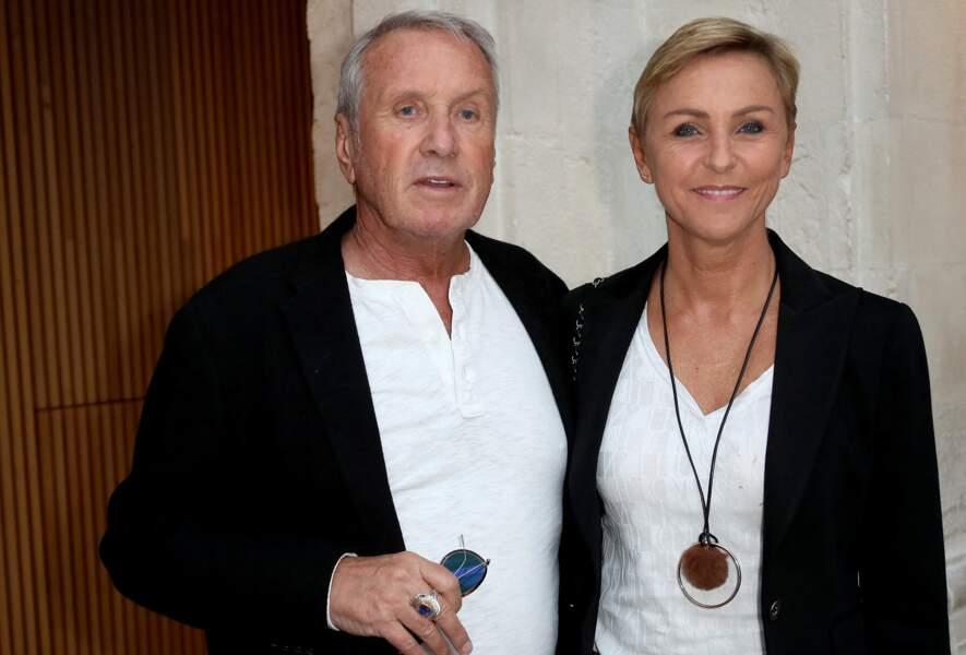 Yves Rénier et sa femme Karin lors du troisième jour du festival international du film de La Rochelle, le 14 septembre 2018