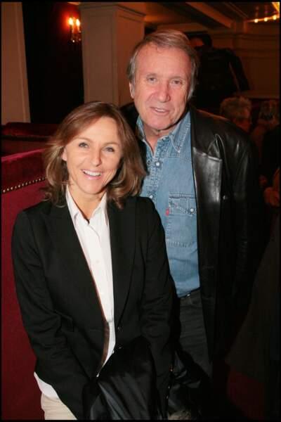 """Yves et Karin Rénier à la générale de la pièce """"Le temps des cerises"""", au théâtre de la Madeleine, à Paris, le 17 mars 2008."""