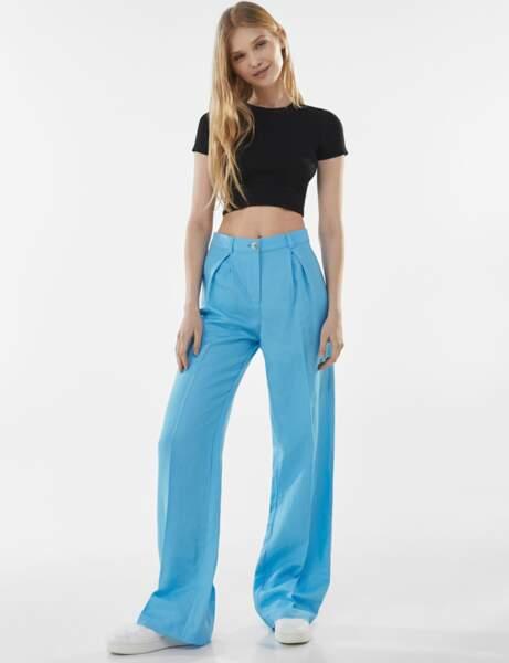 Tendance lin : le pantalon flashy