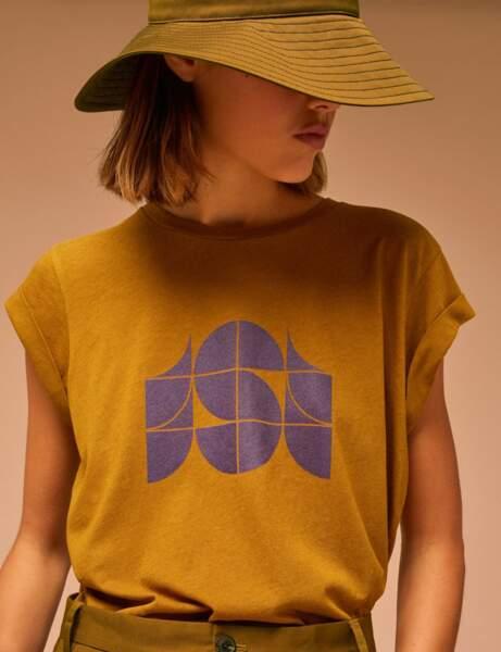 Tendance lin : le tee-shirt graphique