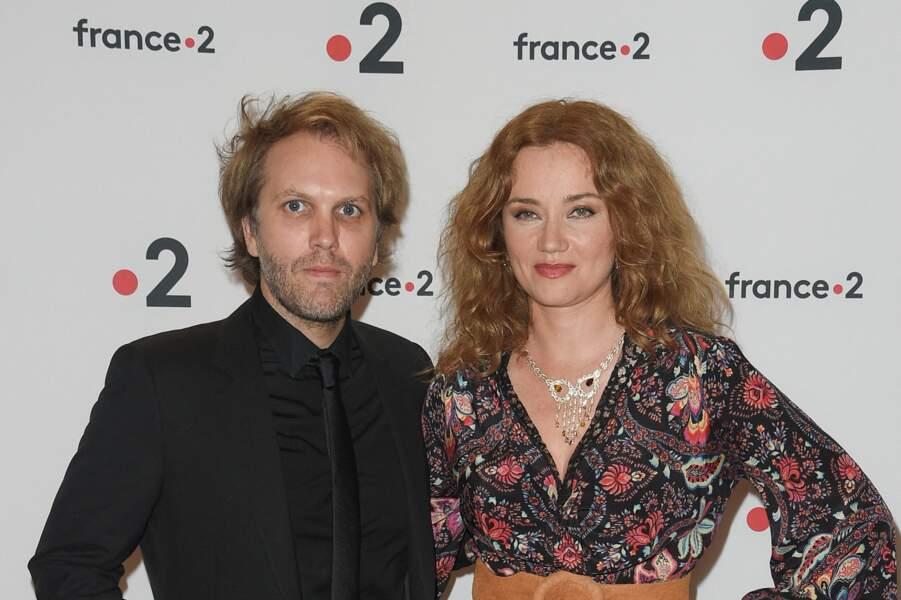 Florian Zeller et Marine Delterme