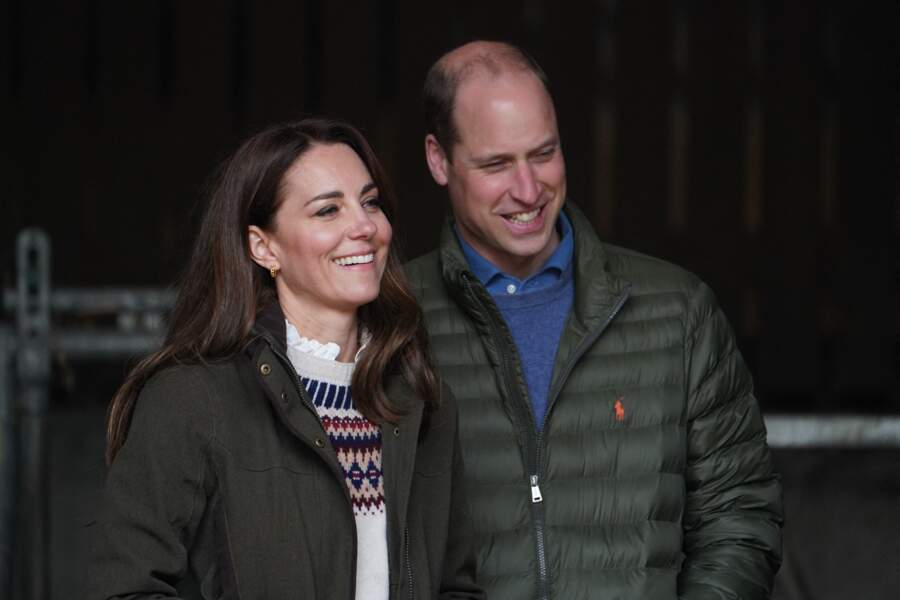 William et Kate à Little Stainton