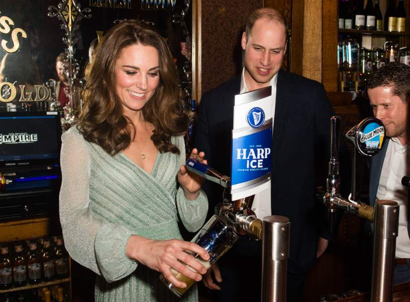 William et Kate à Belfast