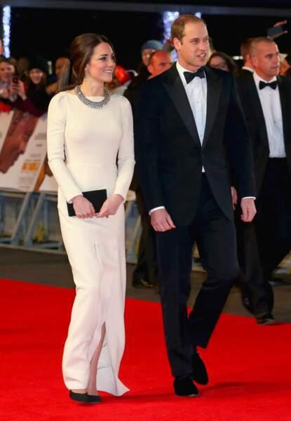 """William et Kate à la première du film """"Mandela : Un long chemin vers la liberté"""""""