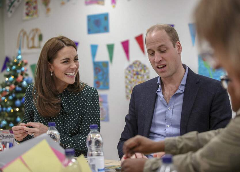 William et Kate à Londres