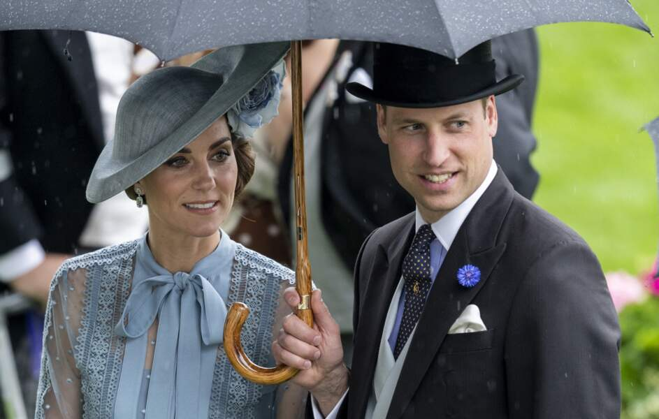 William et Kate à Ascot