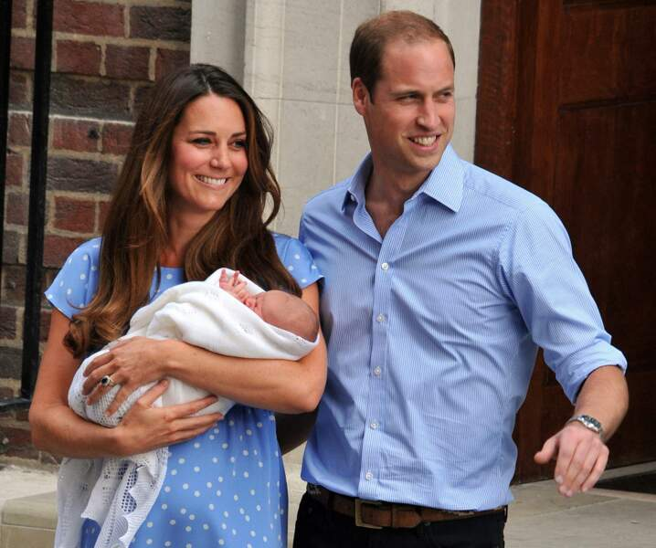 Kate Middleton a accouché de leur premier enfant, le prince George