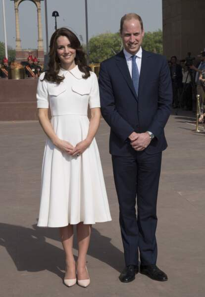 William et Kate à New Delhi