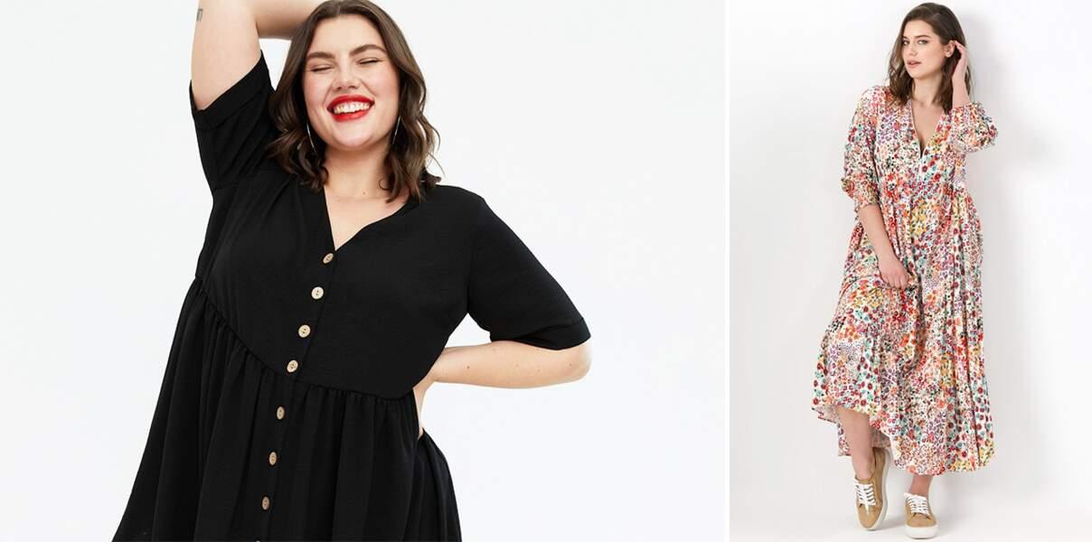 Robe grande taille : 20 modèles ultra-féminins pour adopter les tendances de la saison
