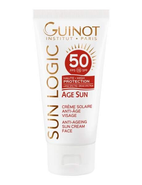 Une crème solaire très haute protection