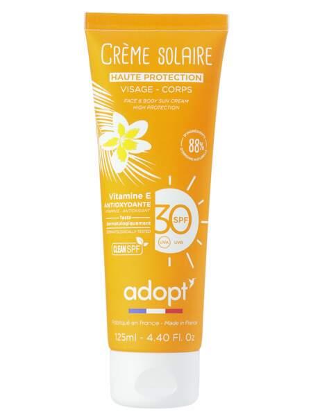 Une crème solaire antioxydante