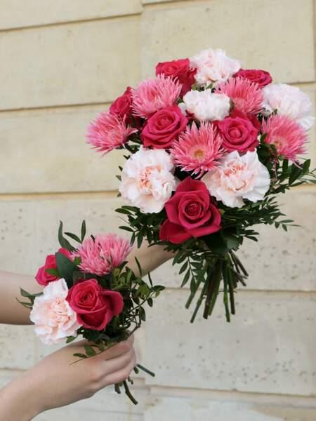 Bouquet de fleurs : Monceau