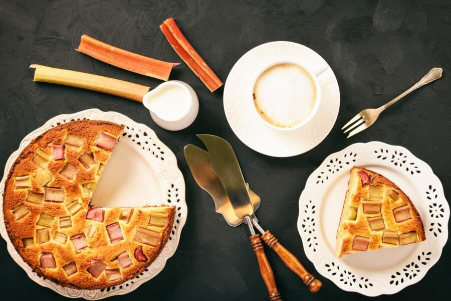 La recette facile et gourmande de la tarte à la rhubarbe de Philippe Conticini