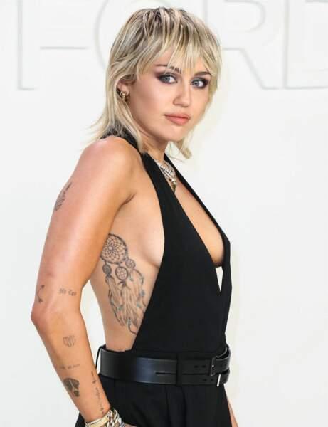 Le coupe mulet de Miley Cyrus