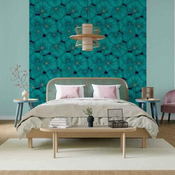 Chambre verte - 4 Murs