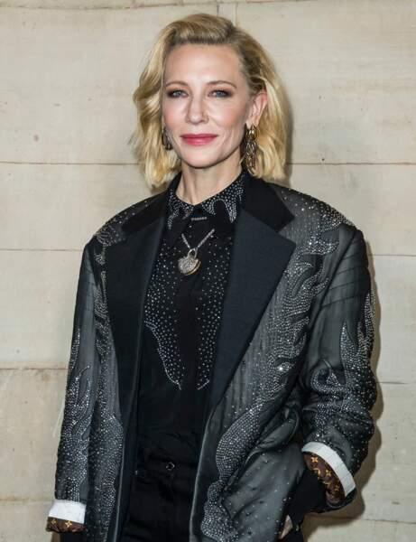 Le carré long de Cate Blanchett