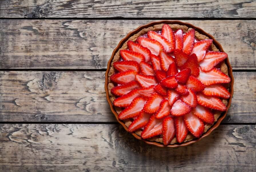 La recette express de la tarte aux fraises de Laurent Mariotte avec un ingrédient inattendu