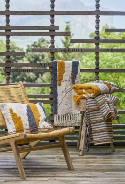 Balcon chaleureux et cosy - Jardiland