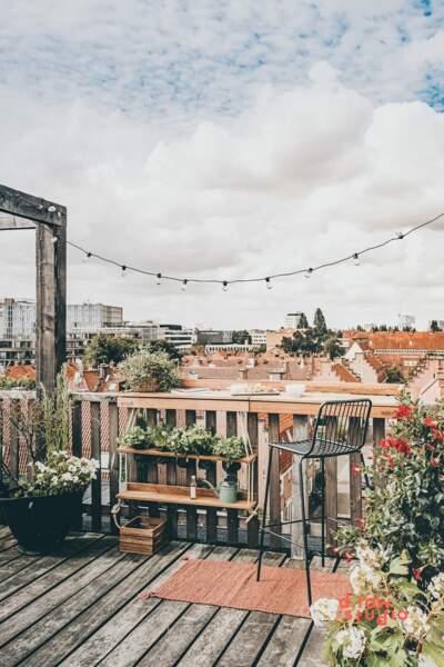 Balcon champêtre de ville - Maison du monde