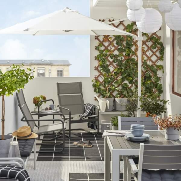 Balcon convivial et naturel - Ikea