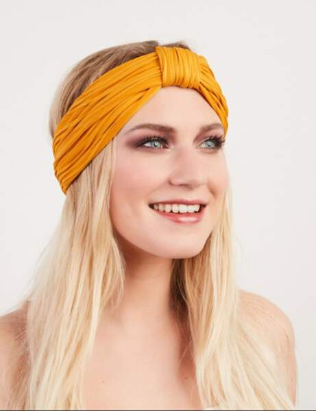 Le turban plissé