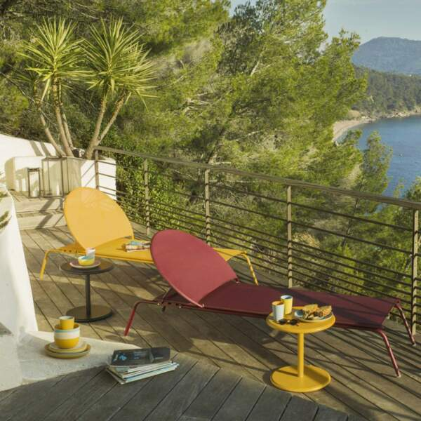 Balcon pop et relaxant - Habitat