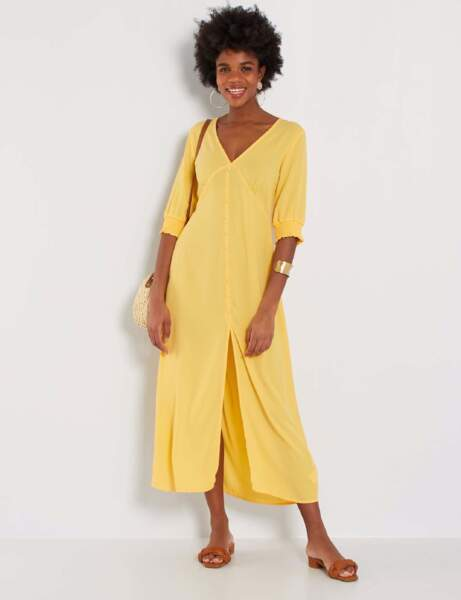 Robes tendance : jaune