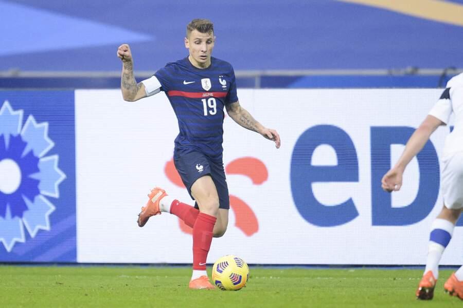 Lucas Digne, 27 ans, évolue au club anglais, l'Everton FC, au poste de défenseur.