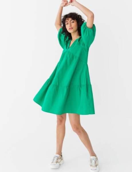 Robes tendance : manches bouffantes