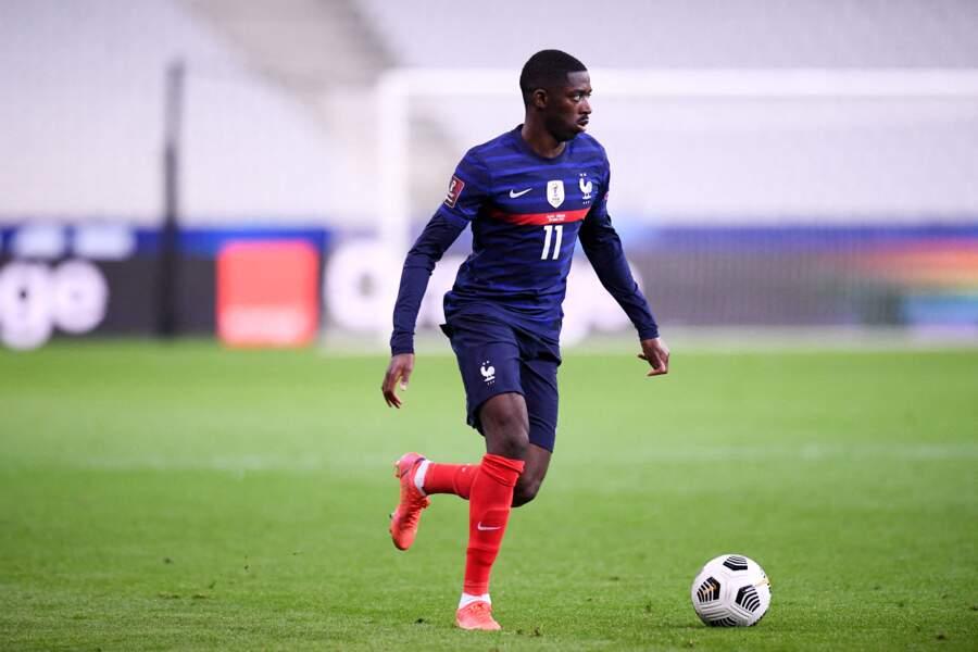 Ousmane Dembélé, 24 ans, ailier au FC Barcelone, semble faire partie du club des célibataires.