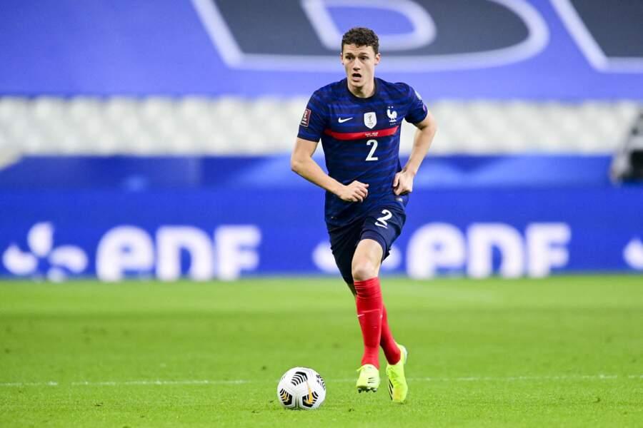 Benjamin Pavard, qui évolue au Bayern de Munich, n'a pas de compagne officielle. Des rumeurs l'ont, un temps, dit en couple avec Alicia Aylies, Miss France 2017.