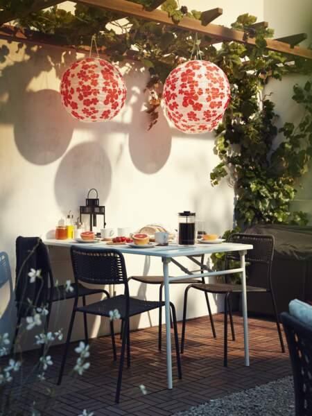 Terrasse à la déco champêtre - Ikea