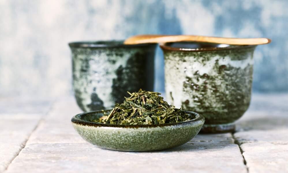 Le thé tonus et satiété