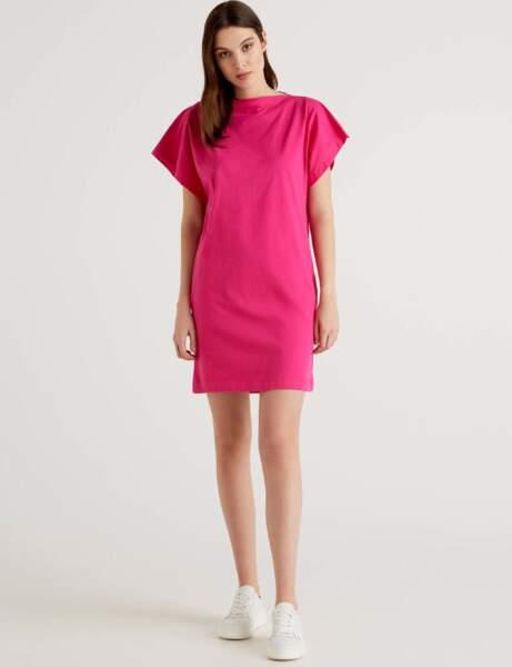 Mode 50 ans et plus : une robe flashy