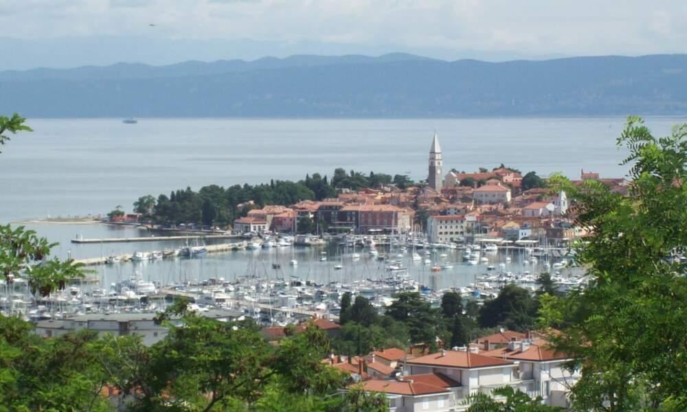Izola dans le golfe de Trieste