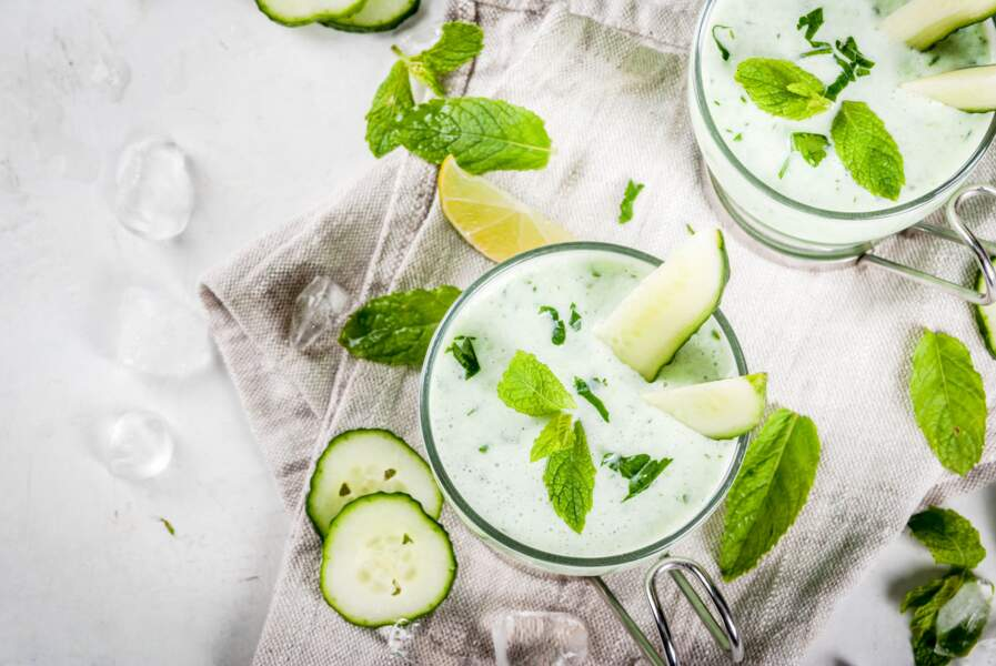 La recette gourmande de soupe de concombre de Cyril Lignac pour se rafraîchir