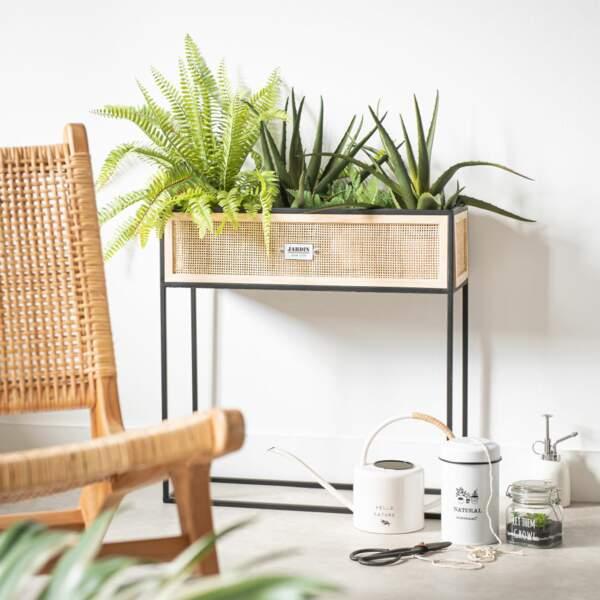 Jardinière en fibre végétal - Maison du monde