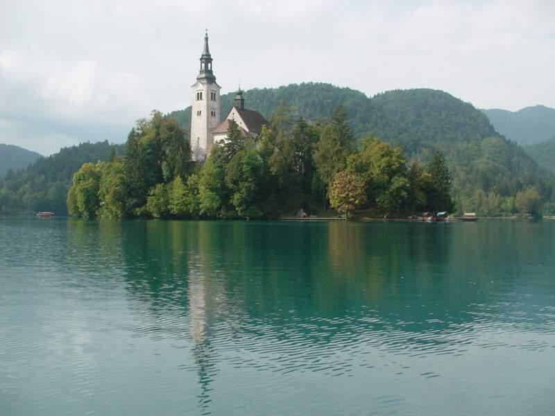 L'église néogothique de Bled