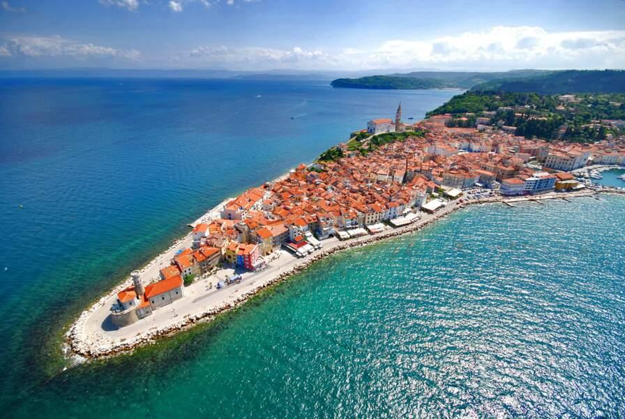 Piran près de la frontière croate