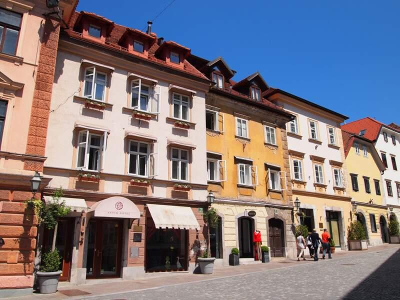 Gornji trg et ses maisons médievales
