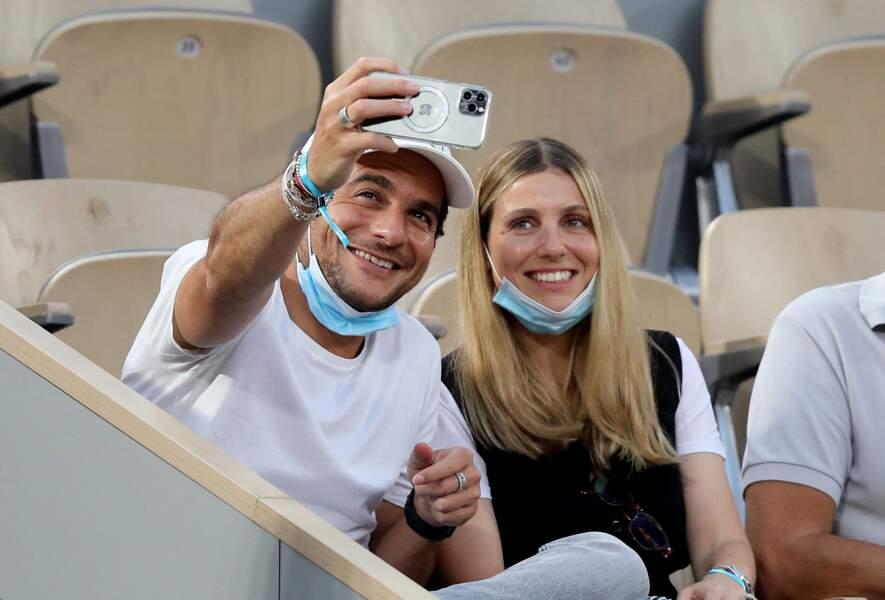 Amir Haddad avec sa femme Lital