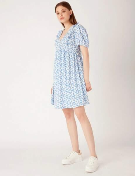 Robes bohème : bleu pastel