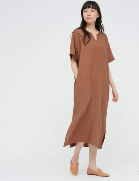 Robes bohème : en lin