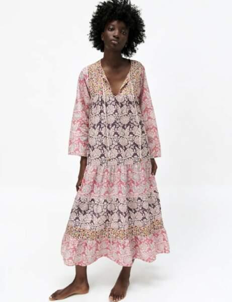 Robes bohème : en patchwork