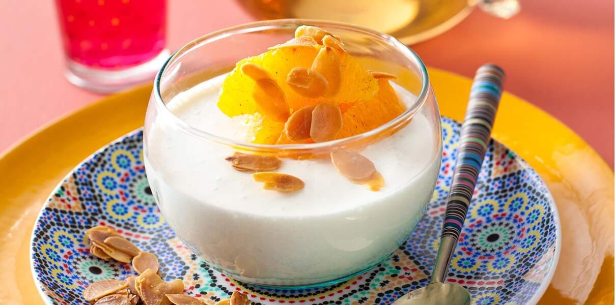 Crème aux amandes grillées