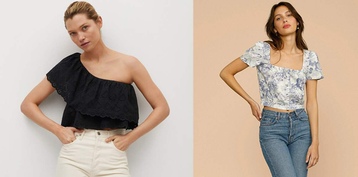 Crop-top : à nous les petits hauts les plus faciles à porter cet été !