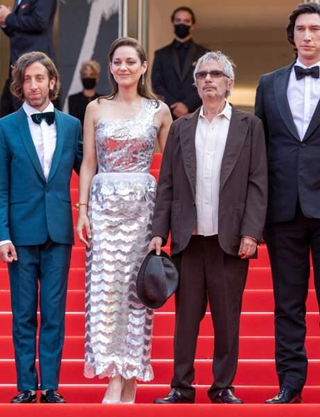 Cannes 2021 : Marion Cotillard en mode disco