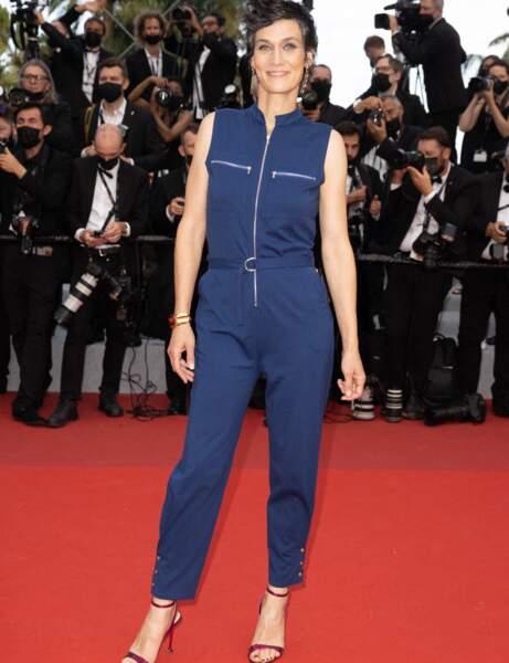 Cannes 2021 : Clotilde Hesme en pompiste chic